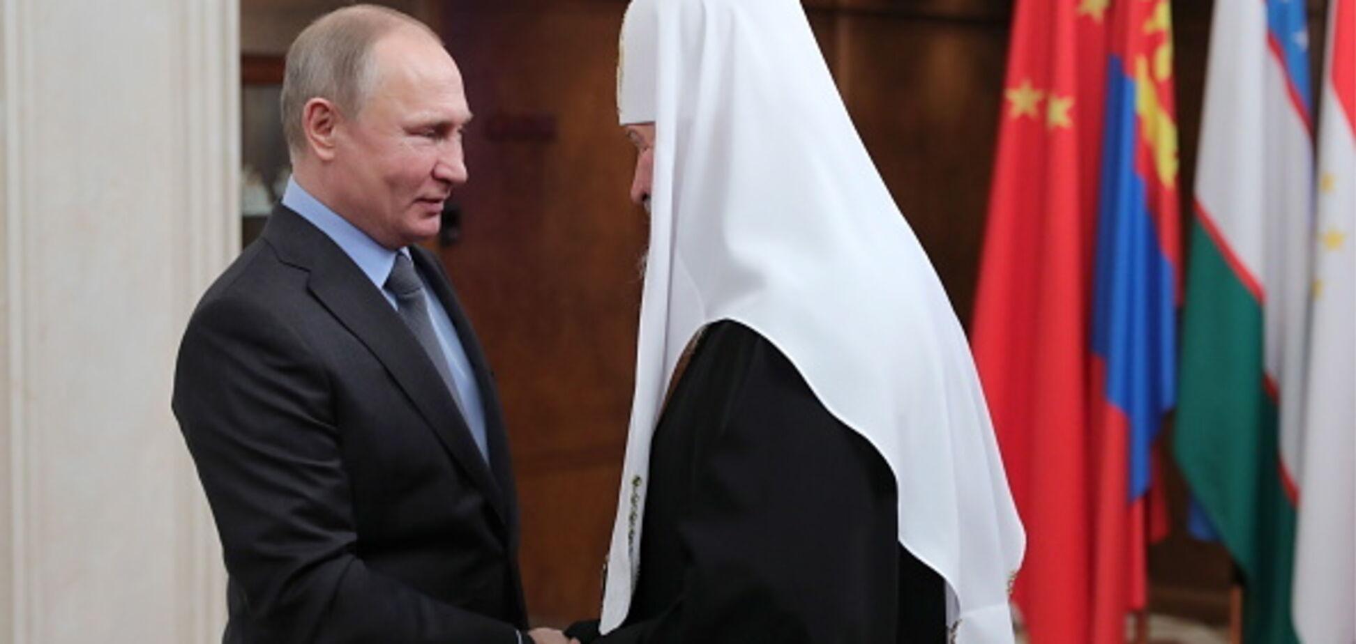 Между Путиным и Кириллом назрел раскол: всплыли детали синода РПЦ по Томосу Украине