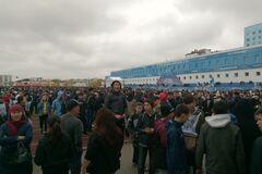 В России во время массового забега затоптали детей