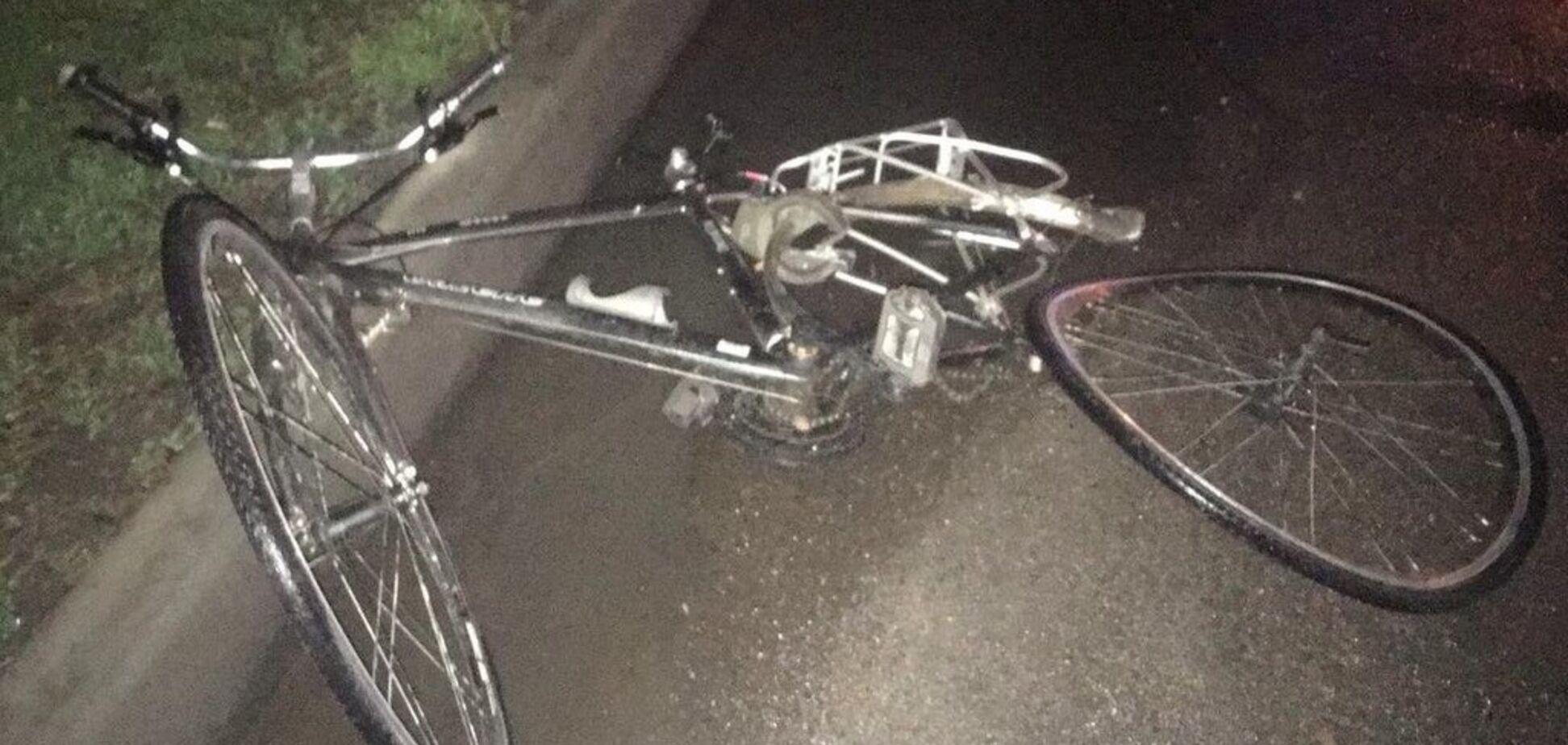 В Запорожской области водитель легкового авто сбил насмерть велосипедиста