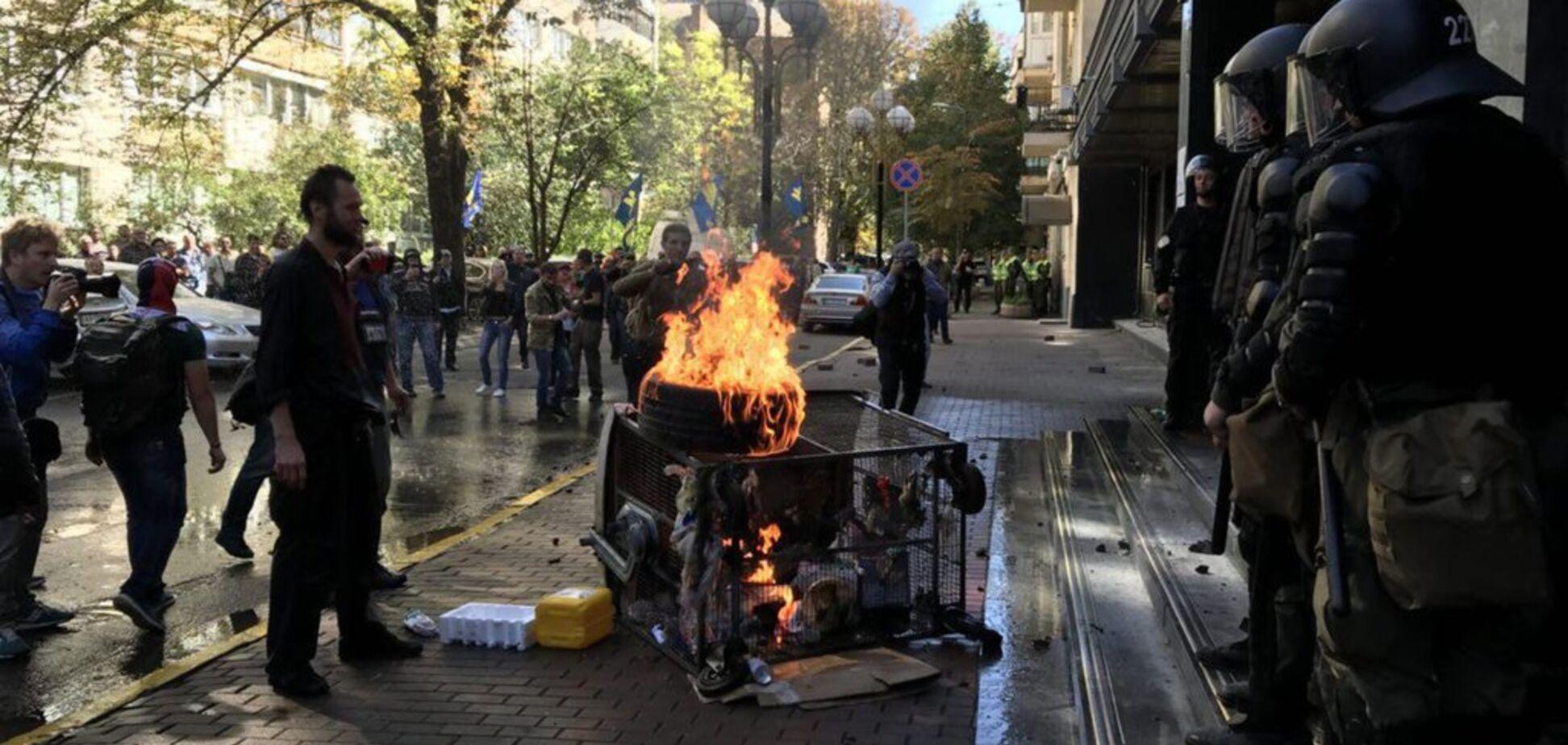 В Киеве под ГПУ произошли стычки: в полиции заявили о пострадавших