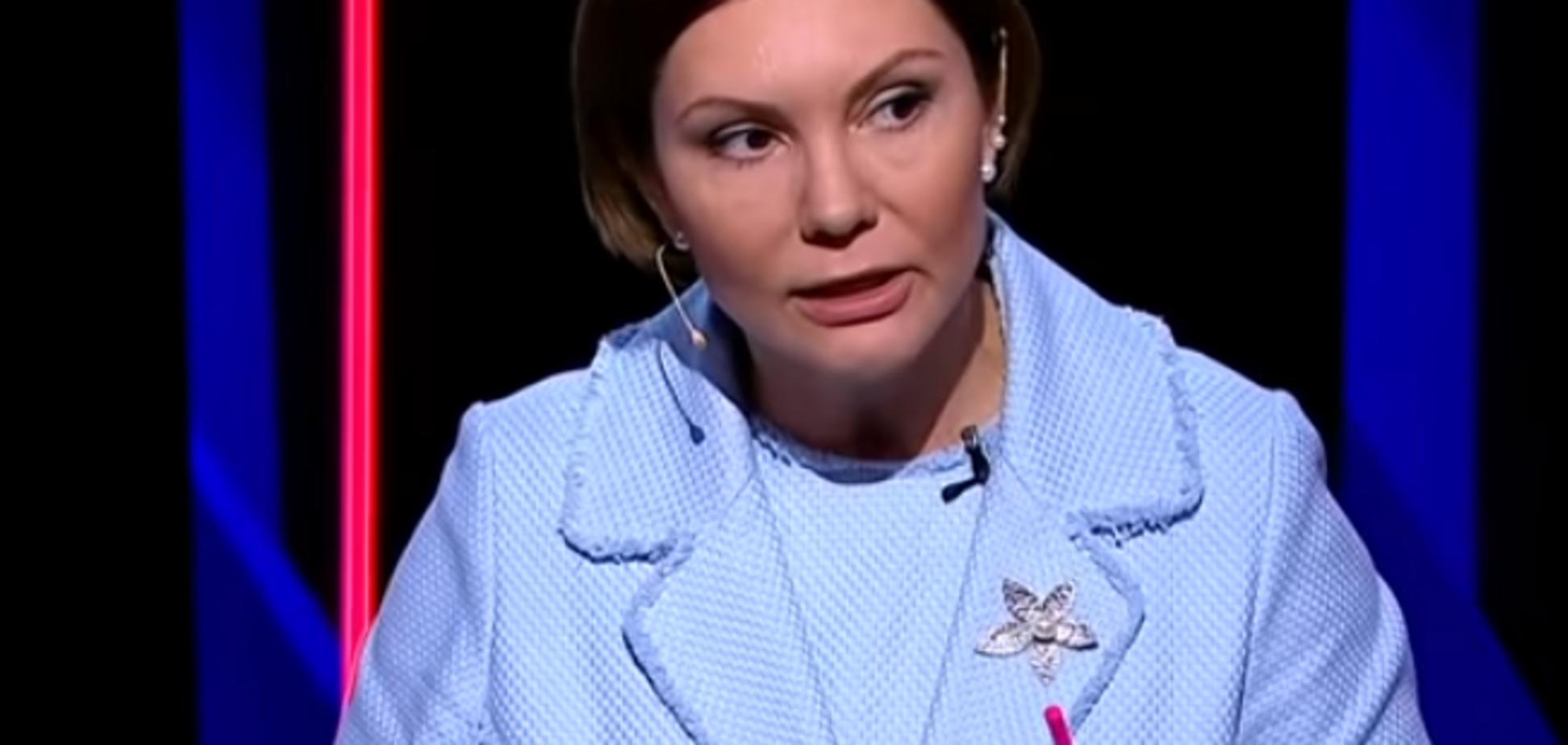 ''Вы — убийцы!'' Экс-регионалка поскандалила с украинцем на росТВ