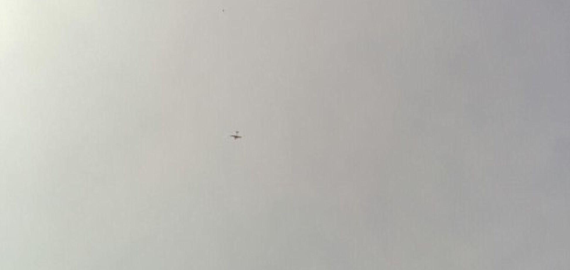 ''Розвідник?'' У Харкові помітили військовий літак