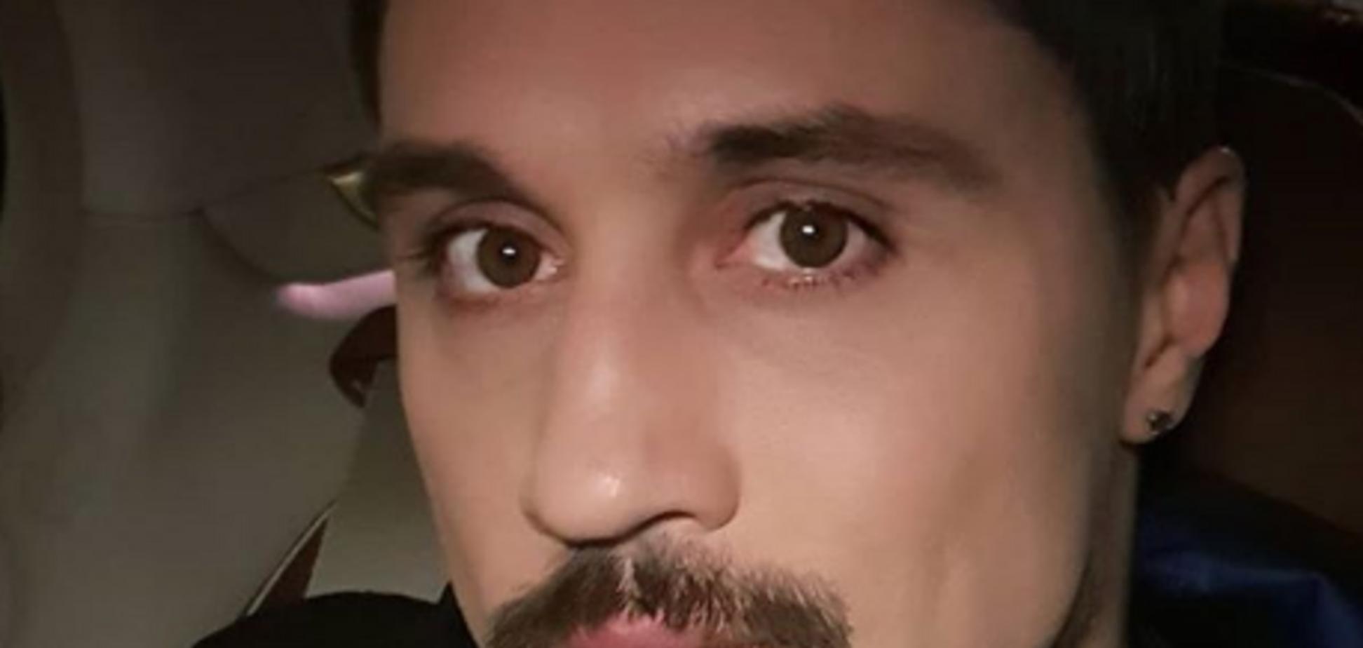 Дима Билан попал в аварию: первое видео с места ДТП