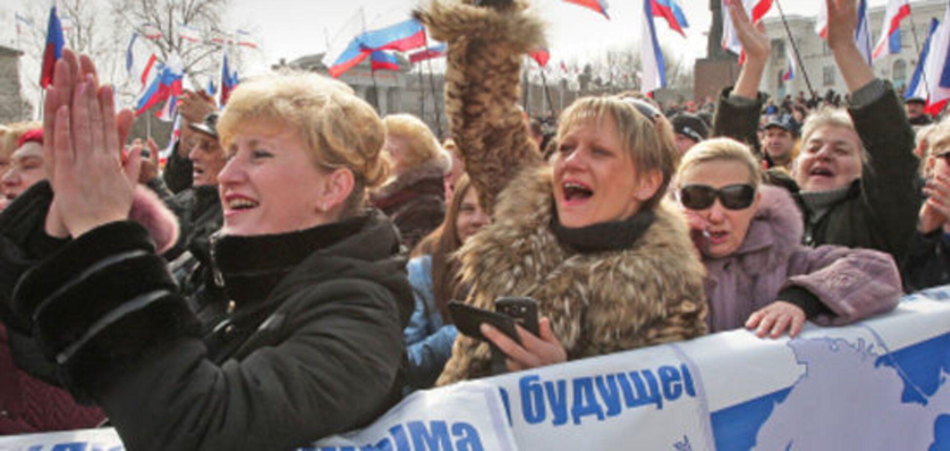 ''Признание'' аннексии Крыма: росСМИ раструбили об ''очередной победе''