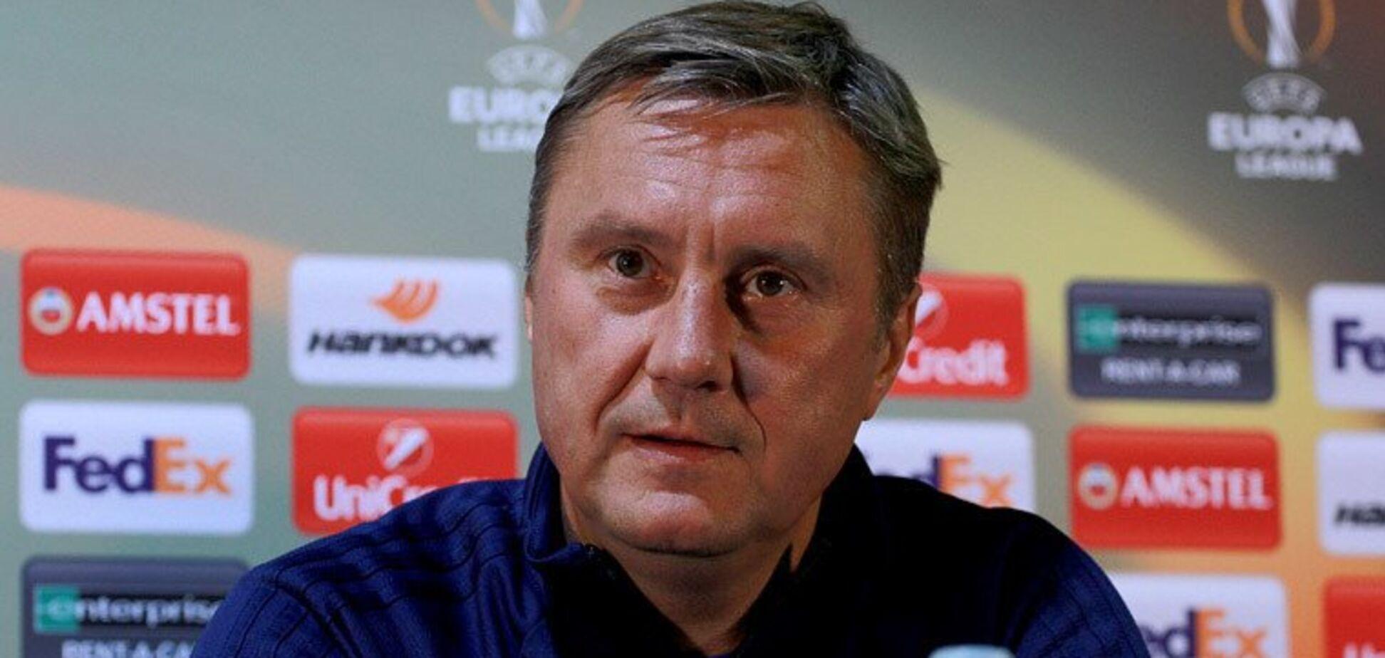 'Я винен': Хацкевич вирішив покинути 'Динамо'