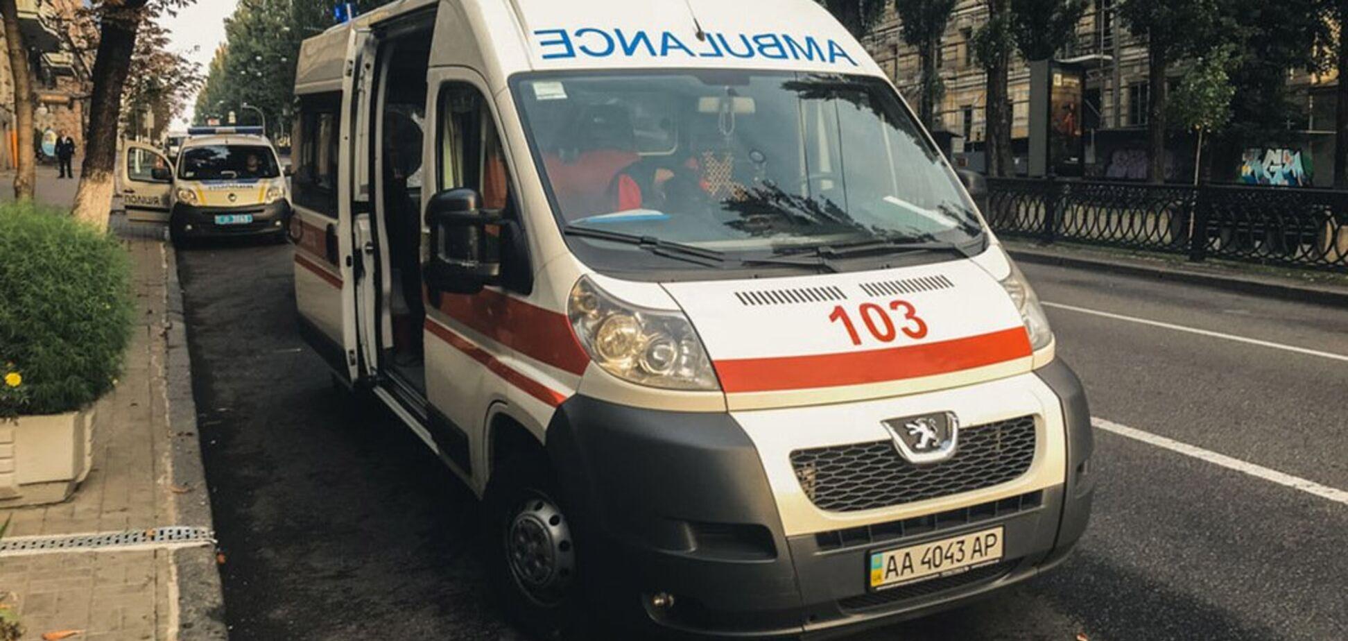 В центре Киева изнасиловали девушку: фото с места инцидента