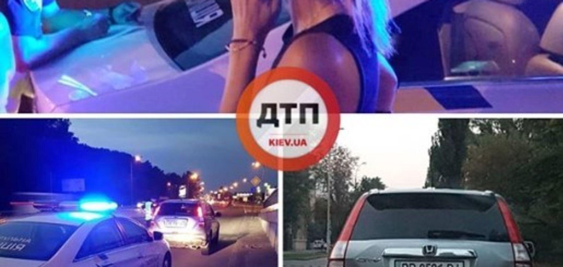 Намагалася 'повирішувати': у Києві за кермом зловили п'яну дівчину, мережа кипить