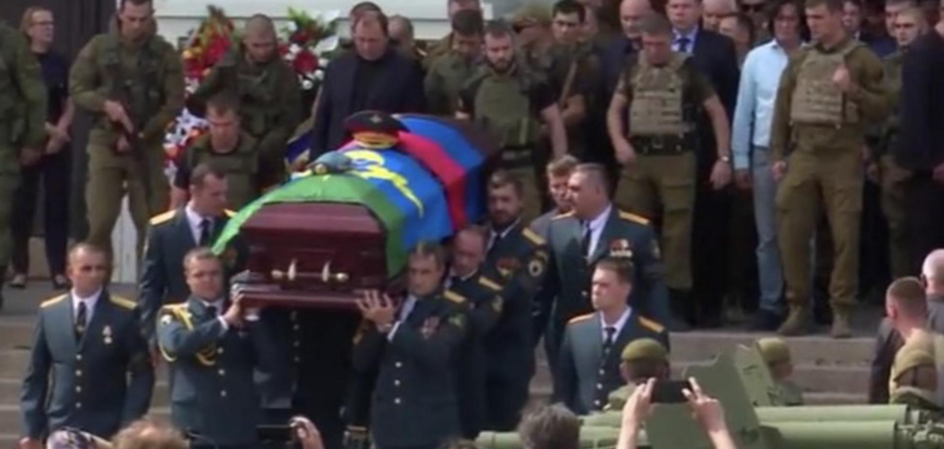 'Батя, ти був таким донецьким': в 'ДНР' попрощалися із Захарченком