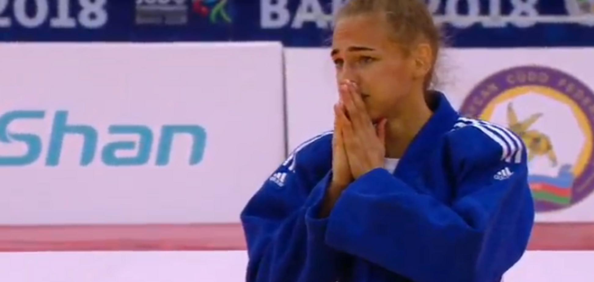 Украинка выиграла 'золото' ЧМ по дзюдо, победив в финале действующую чемпионку