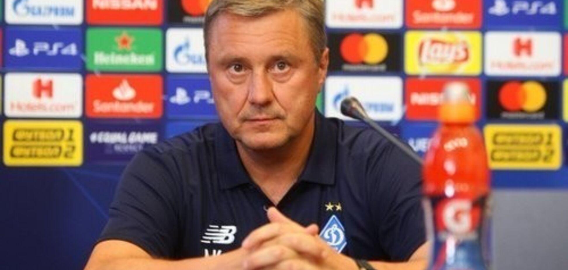 Хацкевич прокоментував упущену перемогу 'Динамо' в Лізі Європи