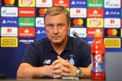Хацкевич прокомментировал упущенную победу 'Динамо' в Лиге Европы