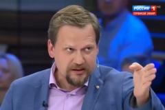 ''За русский начнут расстреливать'': известный ведущий забредил фашизмом в Украине