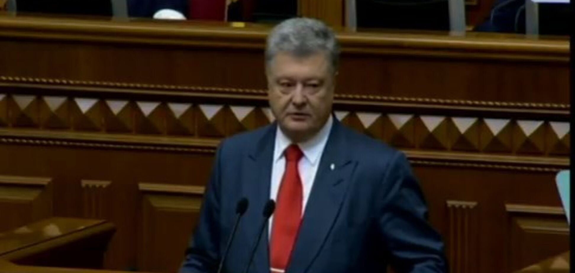 Порошенко озвучив ''формулу сучасної української ідентичності''