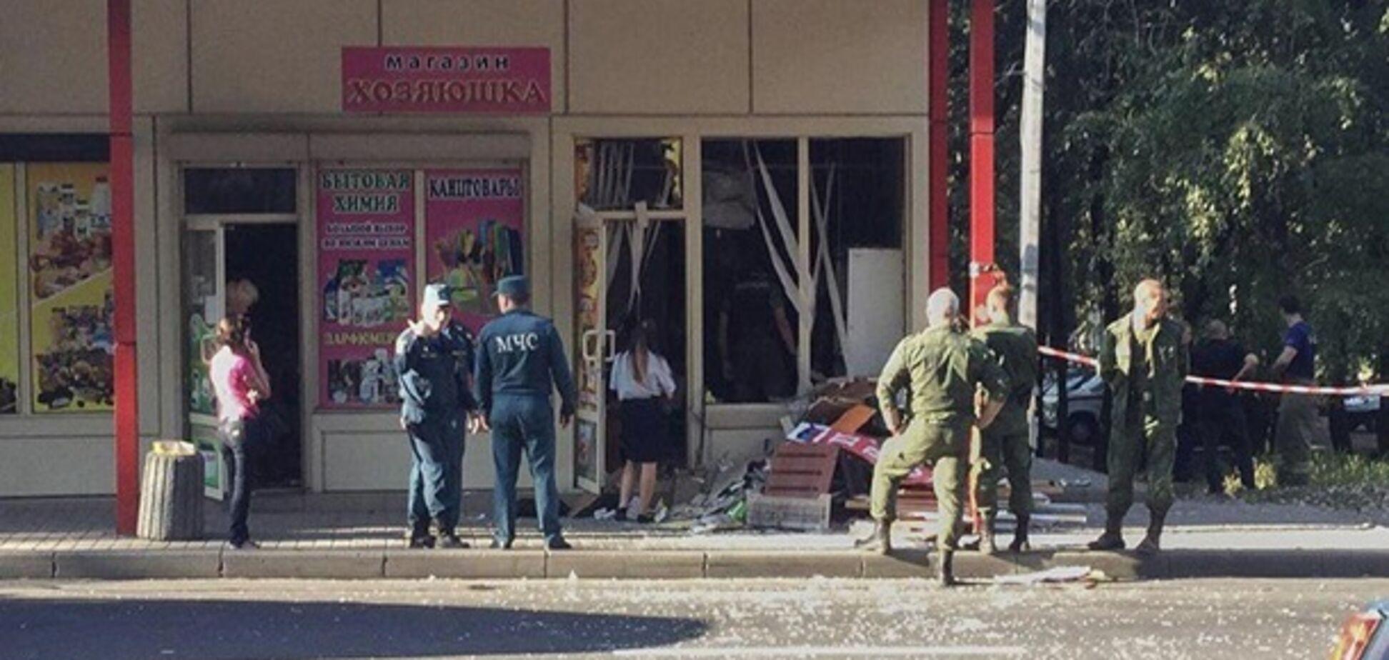 Взрыв в Донецке: в сеть слили видео с места ЧП