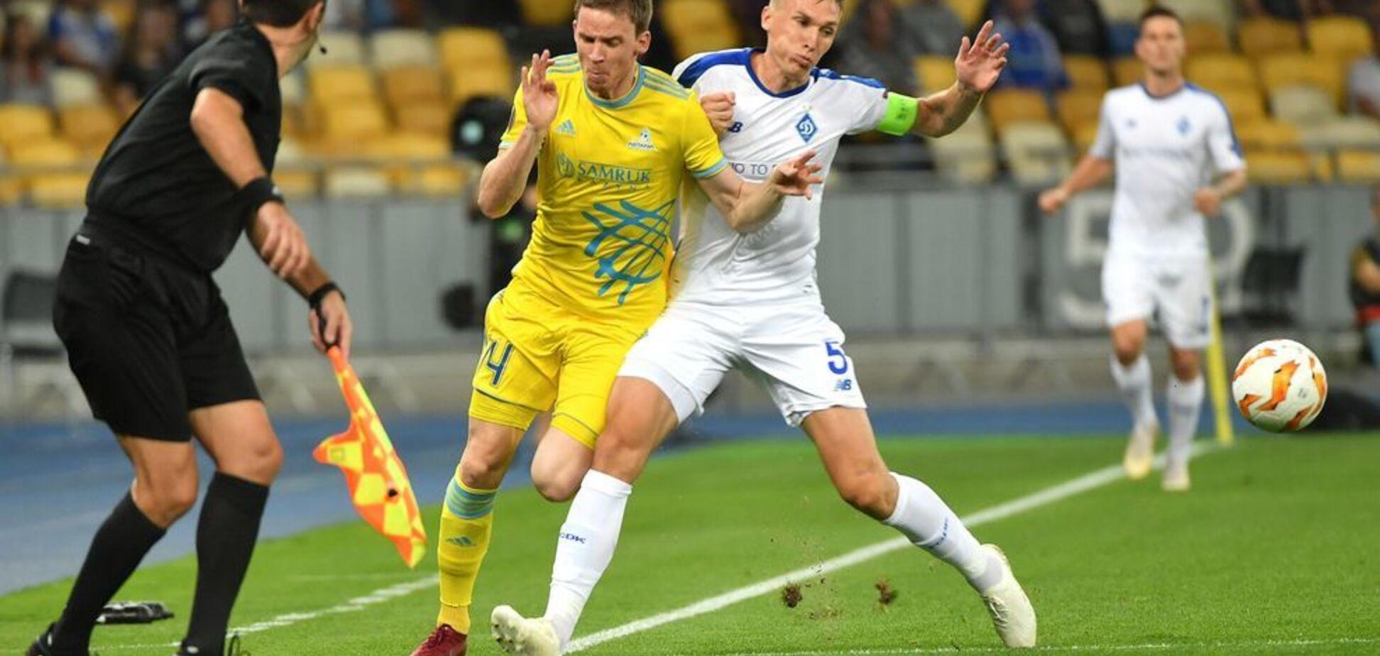 ''Конфликты'' Хацкевича: 'Динамо' и 'Ворскла' стартовали в Лиге Европы