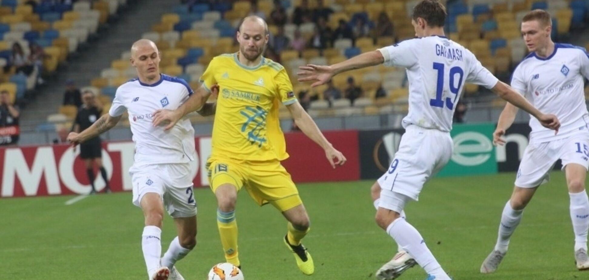 ''Майстерності немає'': футболіст 'Динамо' розкритикував гру із 'Астаною'