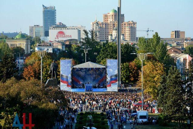 Популярные российские музыканты выступили в ''ДНР'': опубликованы фото и видео