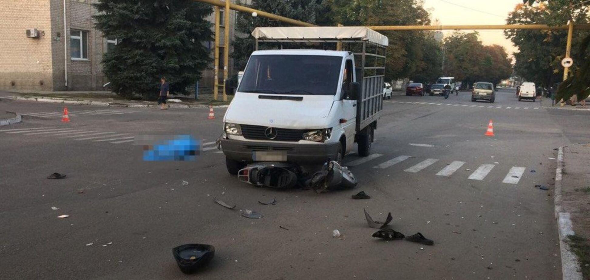 В Запорожской области произошло смертельное ДТП