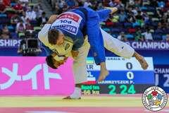 Українець виграв 'бронзу' ЧС із дзюдо, перемігши у турнірі росіянина