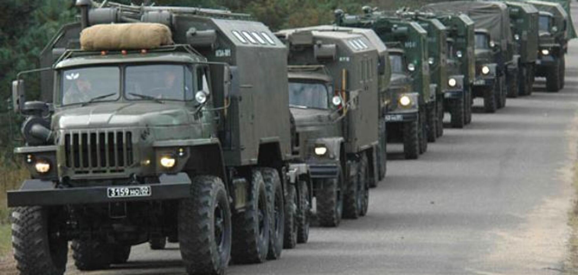 ''Л/ДНР'' отправили подмогу: в Украину вторглась колонна техники России