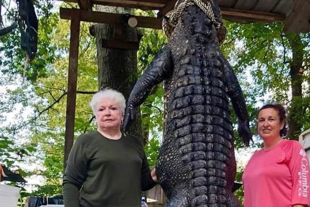 Техасская стрельба из винтовки: бабушка-мэр застрелила 3-метрового аллигатора, который съел ее пони