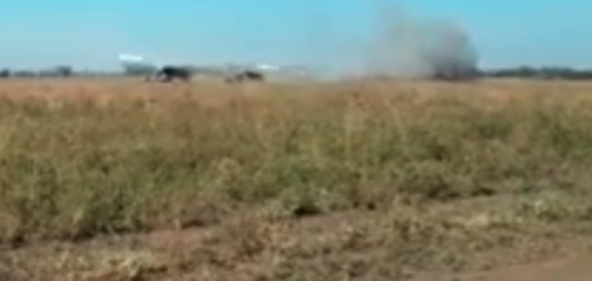 Россия, готовься! Появилось мощное видео удара артиллерии ВСУ