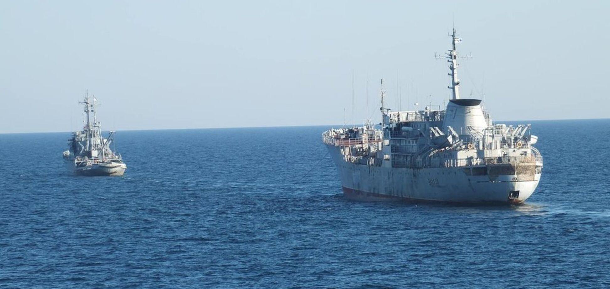 Флот Украины добрался до Мариуполя: появился первый снимок