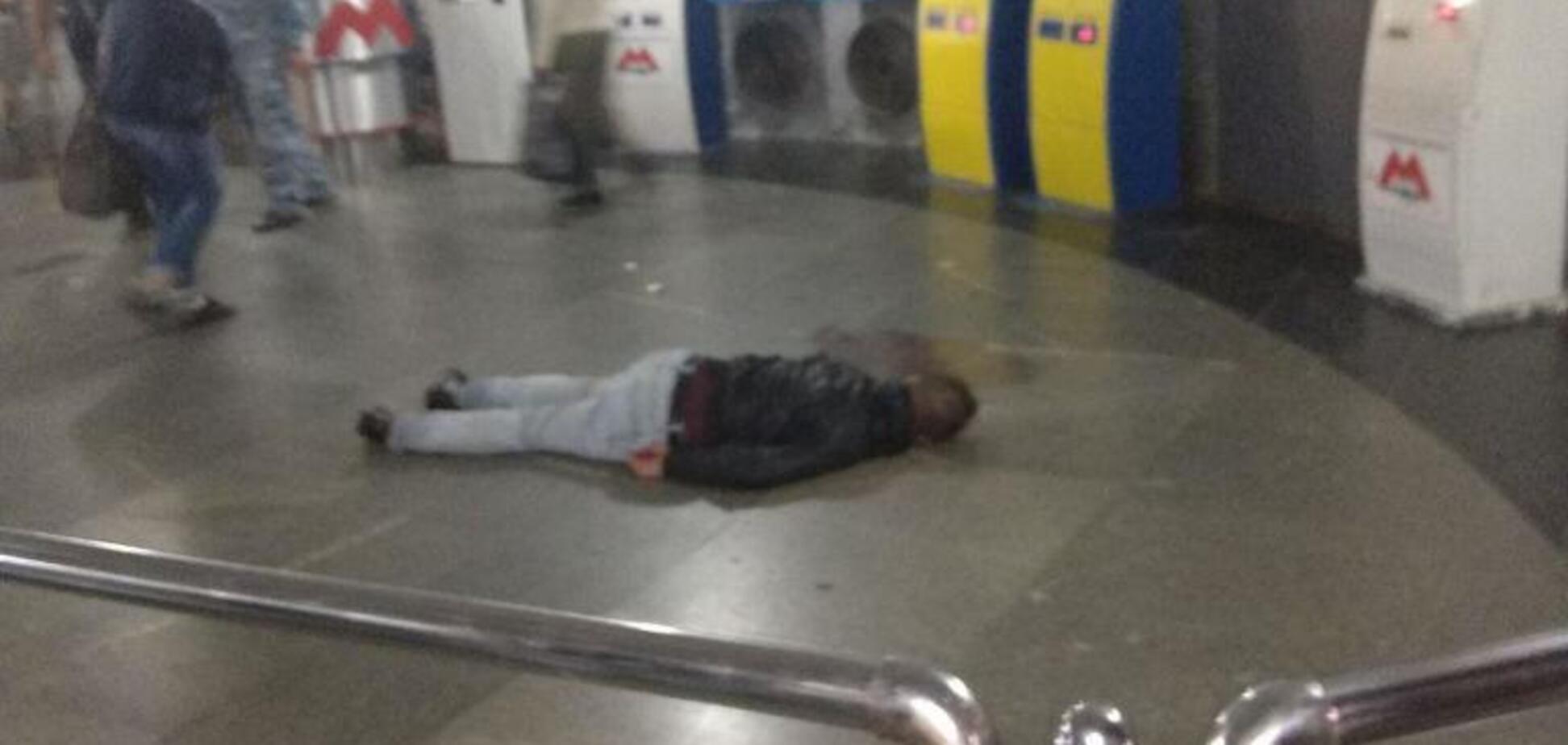 Залив підлогу кров'ю: у поліції розкрили несподівані деталі НП у метро Харкова