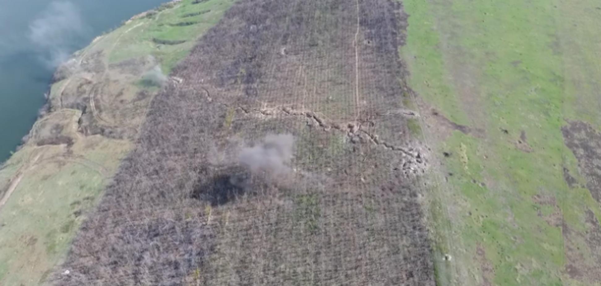 ВСУ разгромили позицию ''ДНР'': появилось мощное видео ответного удара