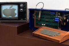 Первый компьютер Apple продали за $400 тысяч: как выглядит и что может