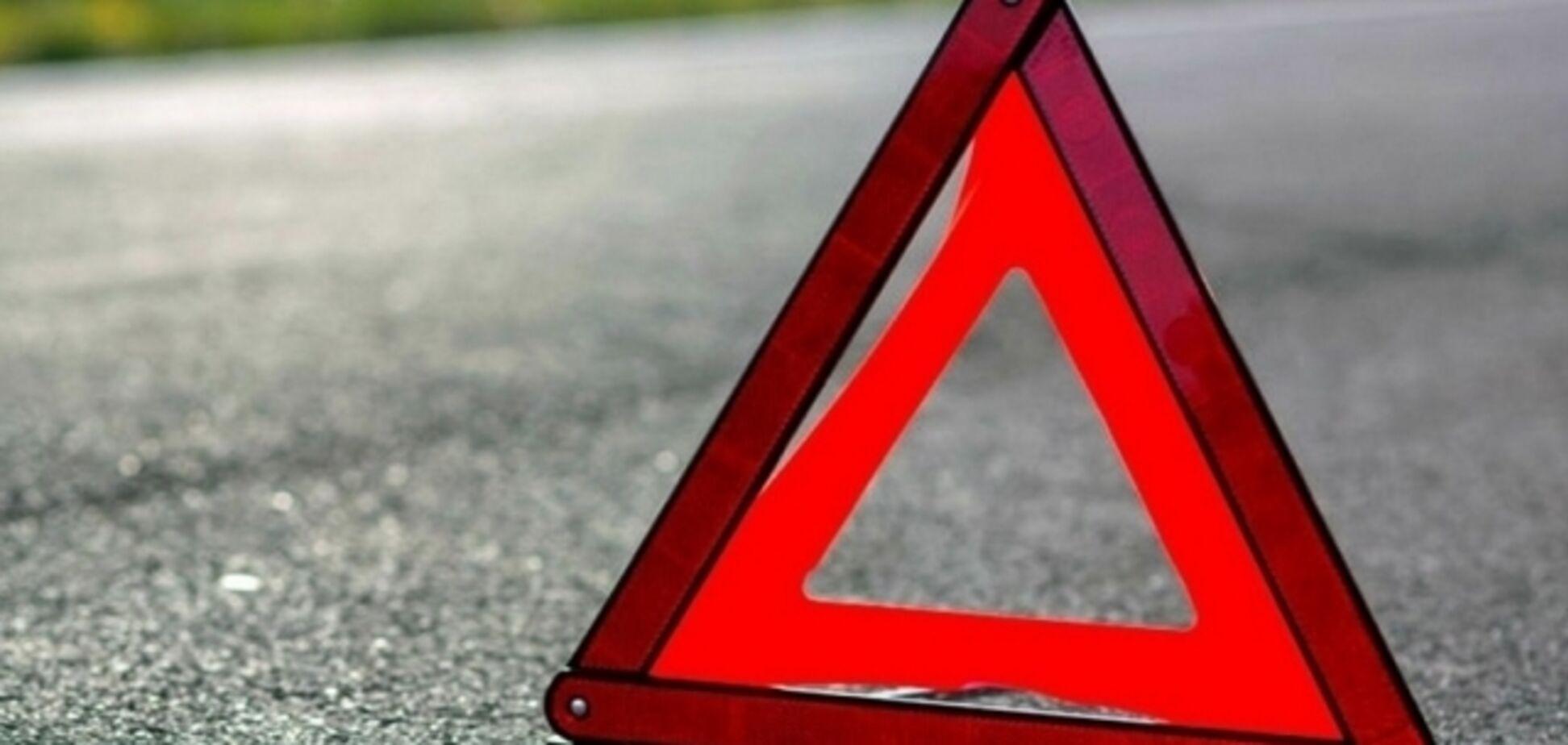 В Запорожье пьяный водитель на 'жигуле' протаранил элитный кроссовер
