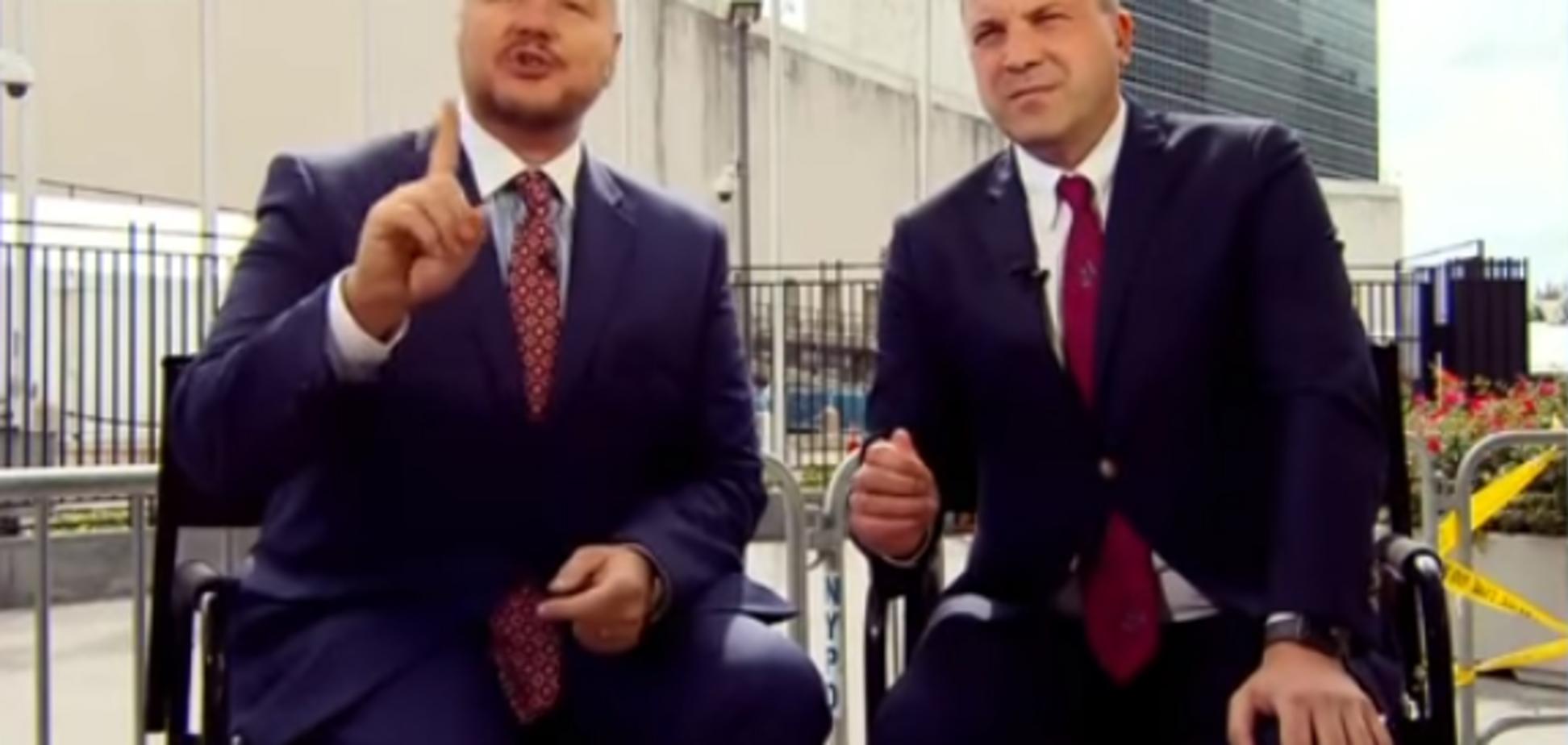 ''Я — русский!'' Скандальный экс-нардеп объявил себя 'миротворцем' на росТВ