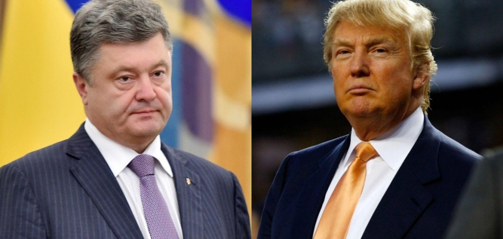 Вот оно – единство! Фото со встречи Трампа и Порошенко впечатлило украинцев
