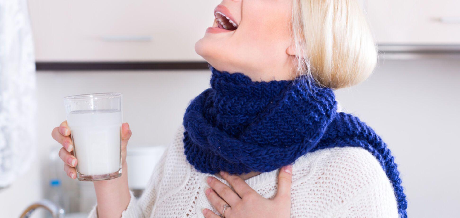 Полоскание горла: рецепты