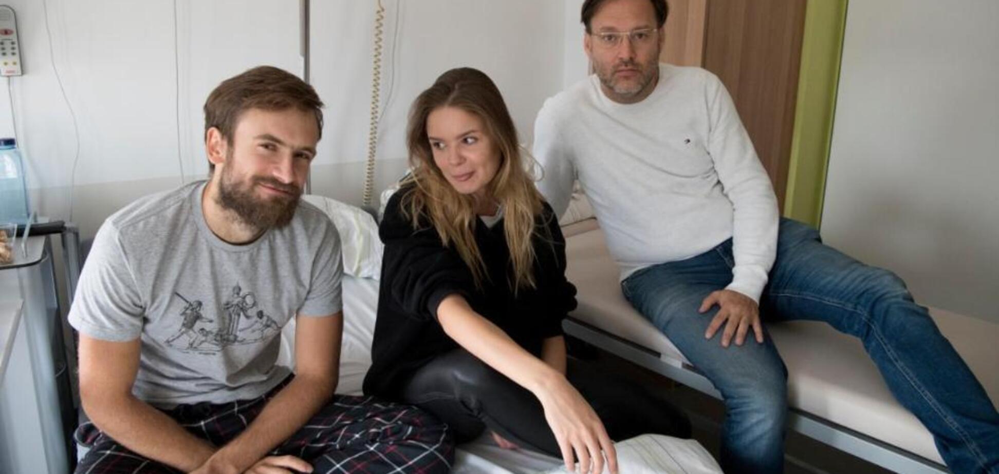 Покушение на Верзилова: участник Pussy Riot в первом интервью назвал отравителей. Фото из больницы