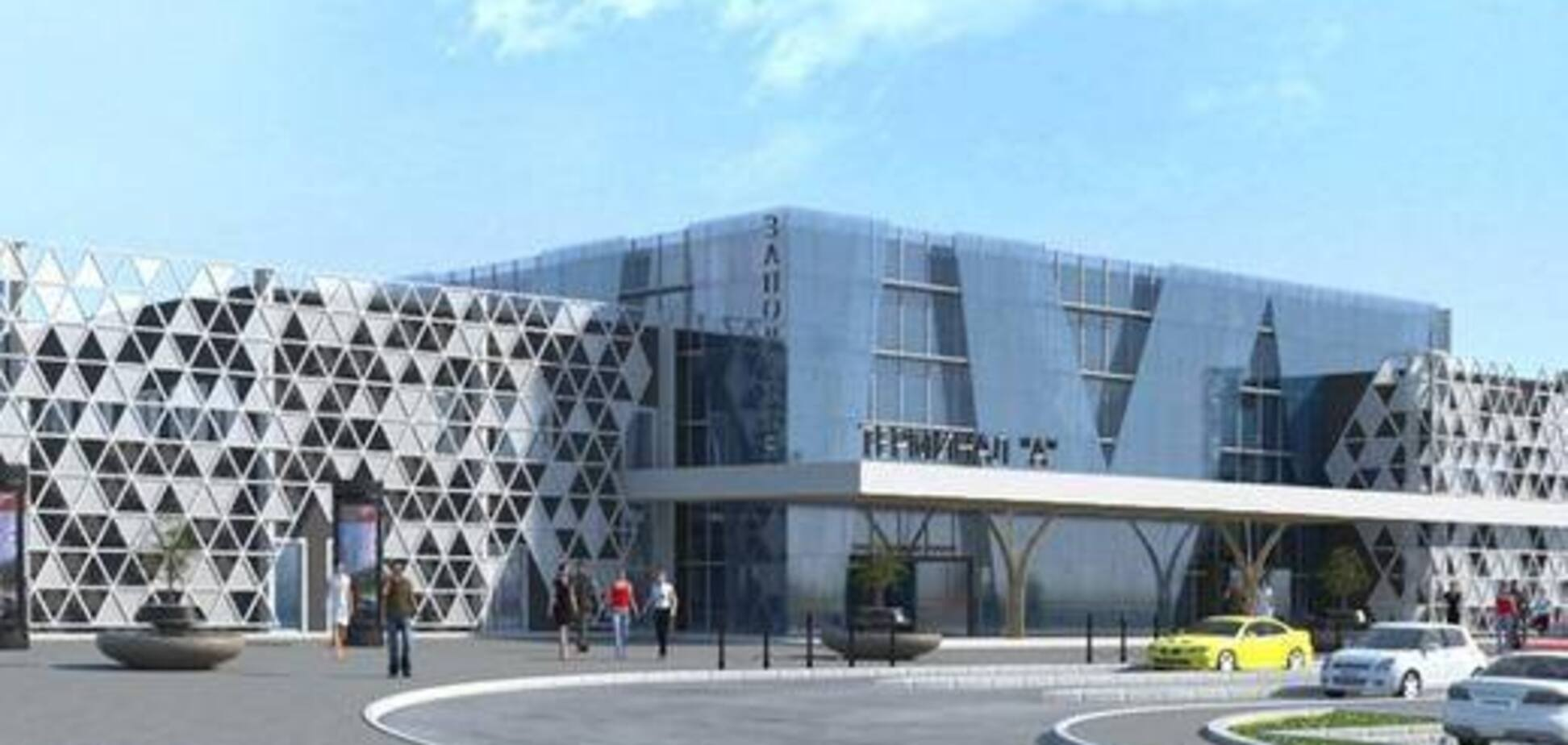 В Сети появилось видео того, как будет выглядеть новый терминал запорожского аэропорта, на строительство которого не хватает 10 млн долларов