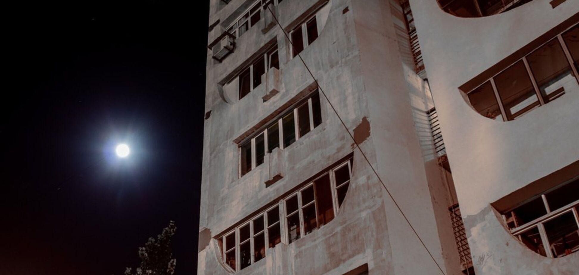 Повний місяць над містом: з'явилися гарні фото Дніпра вночі