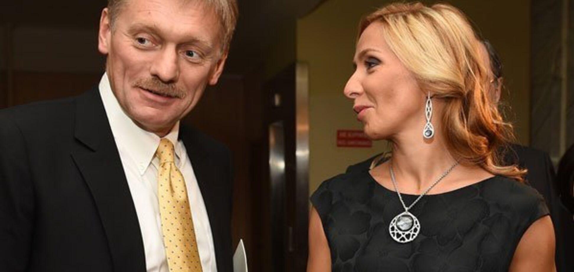 ''Особая страна Скрепостан'': жену Пескова высмеяли за ''традиционные'' крестины