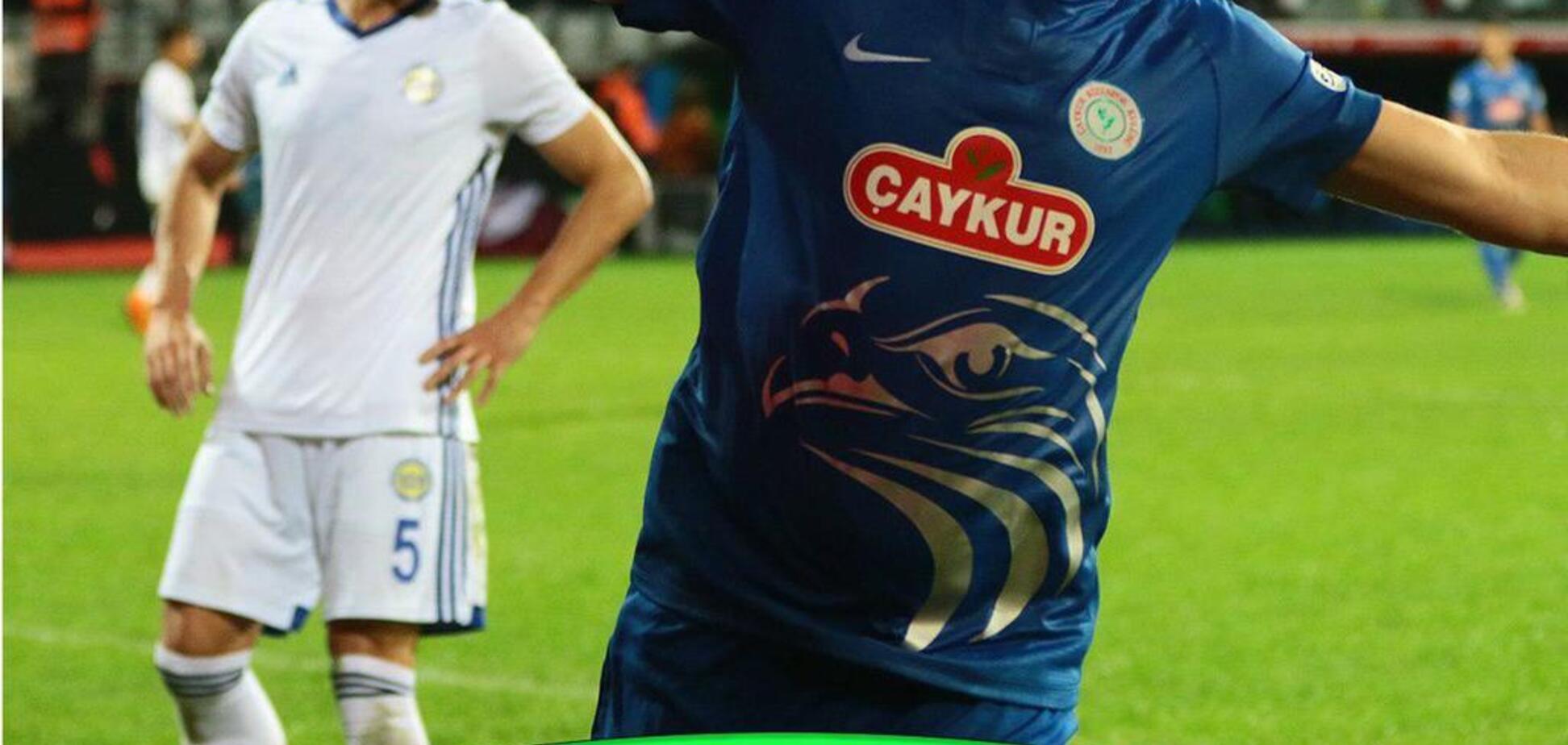 Победный дубль: экс-футболист сборной Украины произвел фурор в Турции