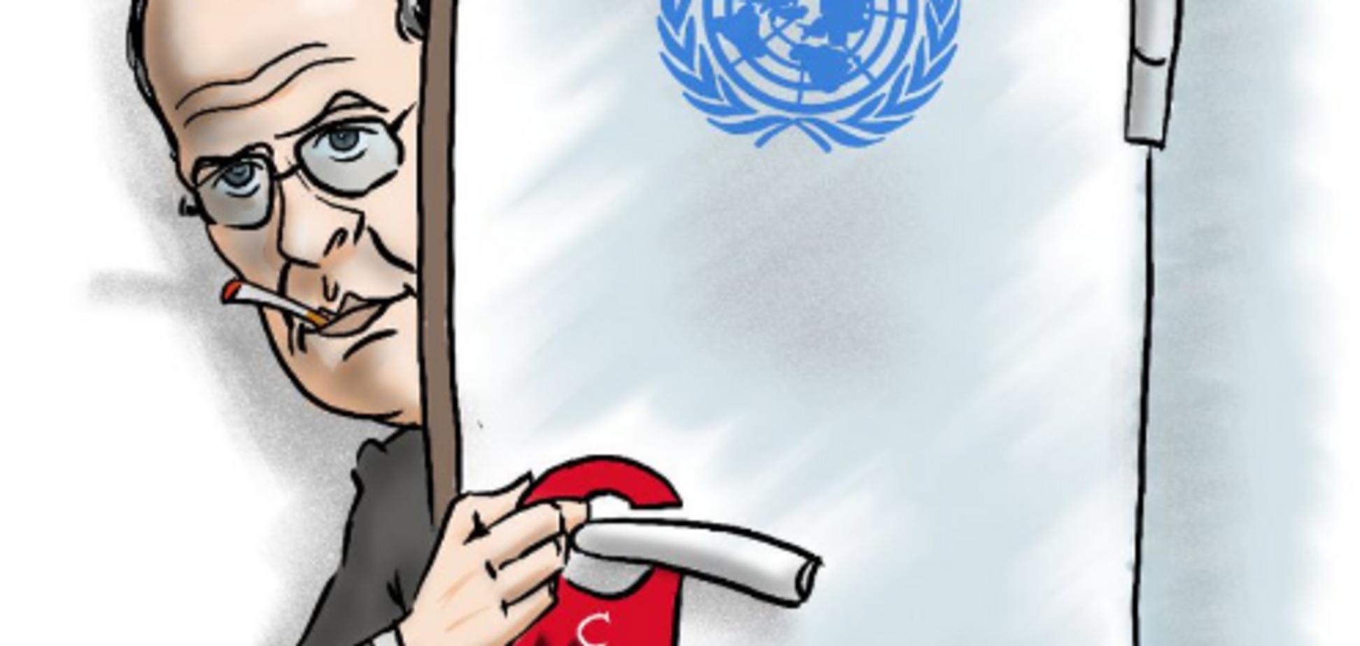 ''Иди на запах'': ''кабинет-туалет'' Лаврова высмеяли в стихе и карикатуре