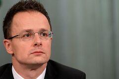 Нож в спину: министр Венгрии сделал новое скандальное заявление об Украине
