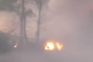 ''Караючий Молот'': пропагандисти Путіна показали фейковий вибух міномета в Україні
