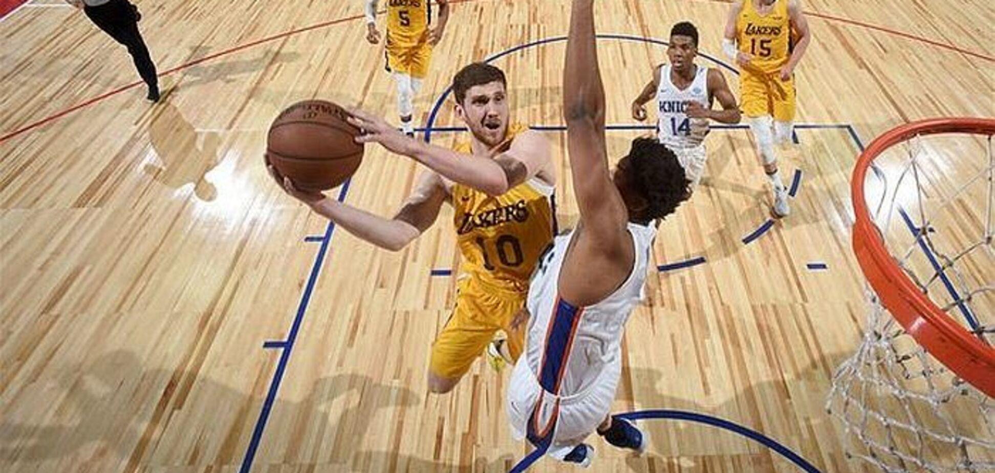 ''Чудово працює'': зірка НБА висловився про українця Михайлюка