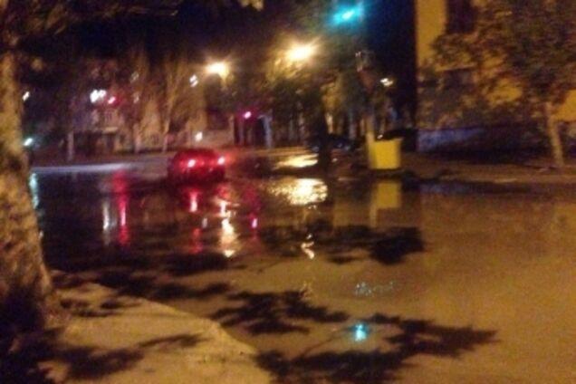 В Мелітополі сталася аварія на водопроводі