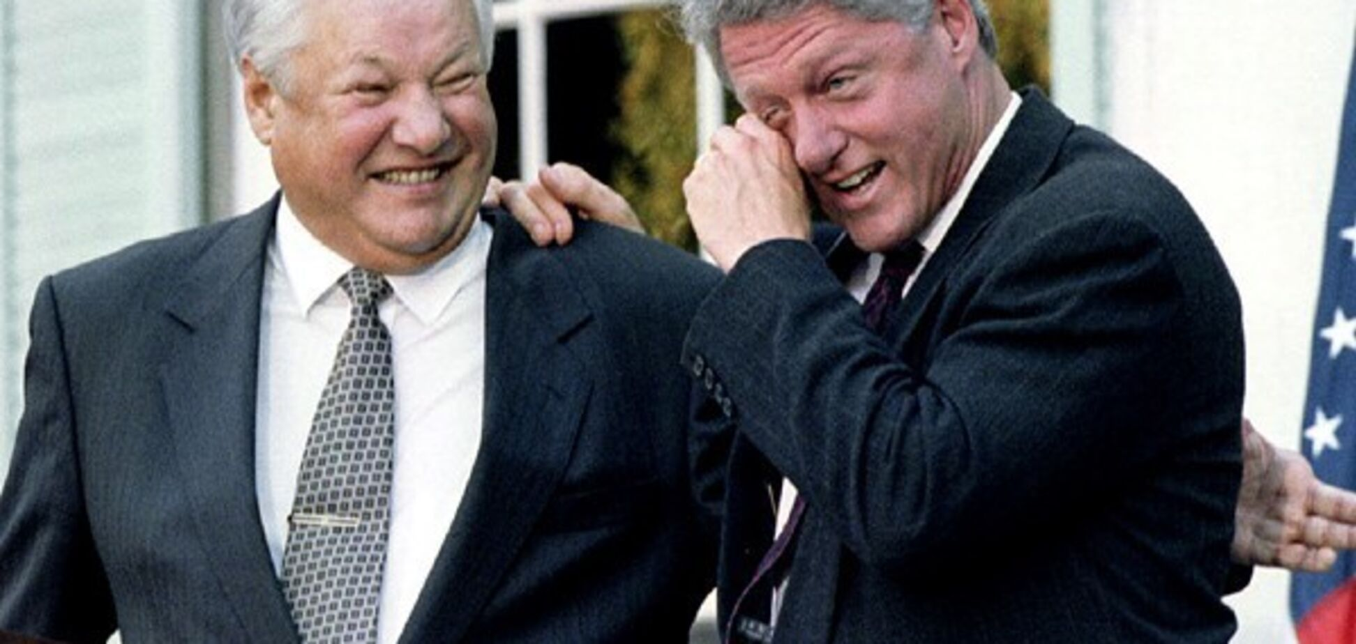 Если бы не Ельцин, россияне подохли бы с голоду