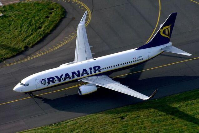 Лоукостер Ryanair осуществил первый вылет из Украины