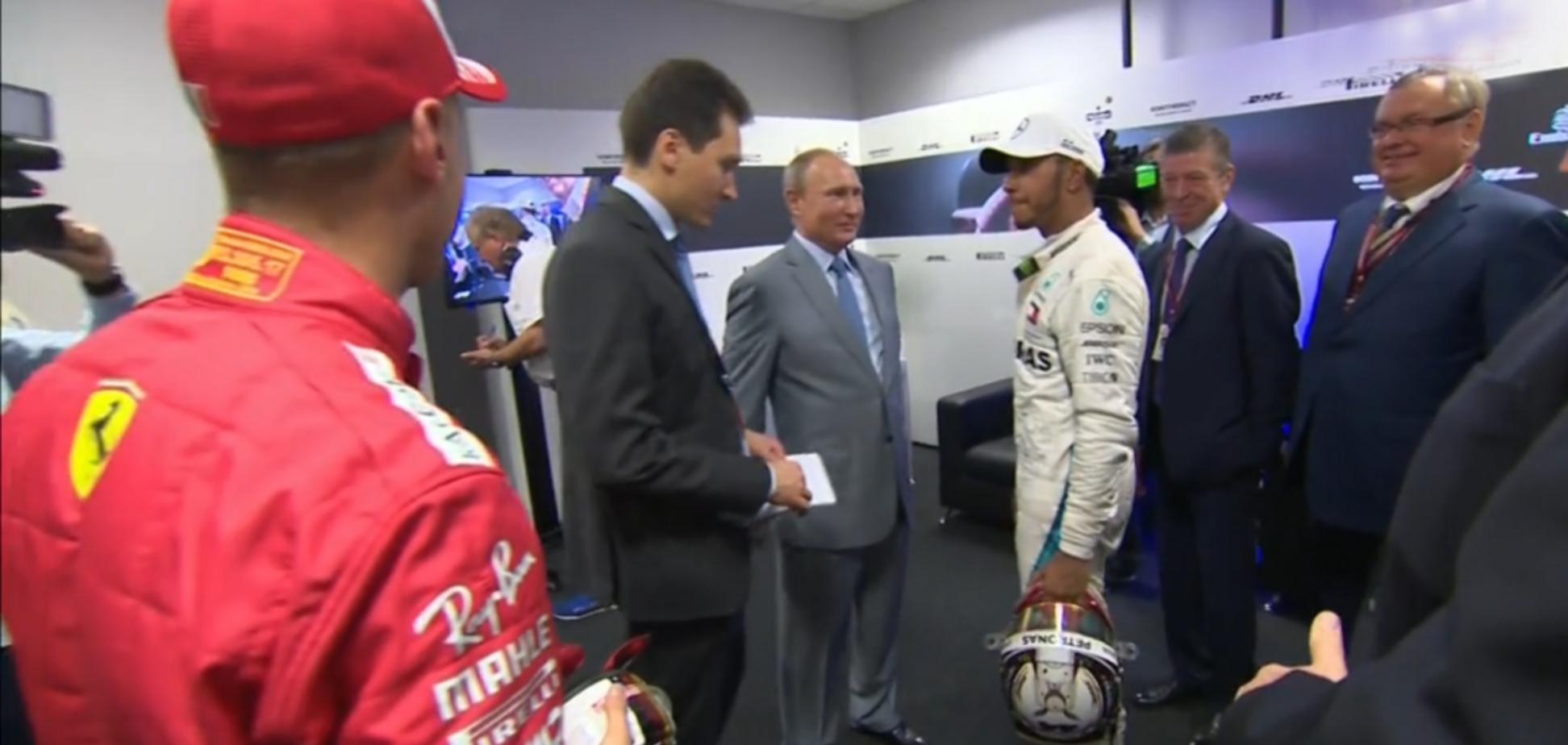Феттель проігнорував Путіна на Гран-прі Формули-1 в Росії