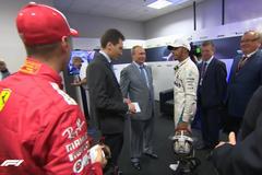 Феттель проигнорировал Путина на Гран-при Формулы-1 в России