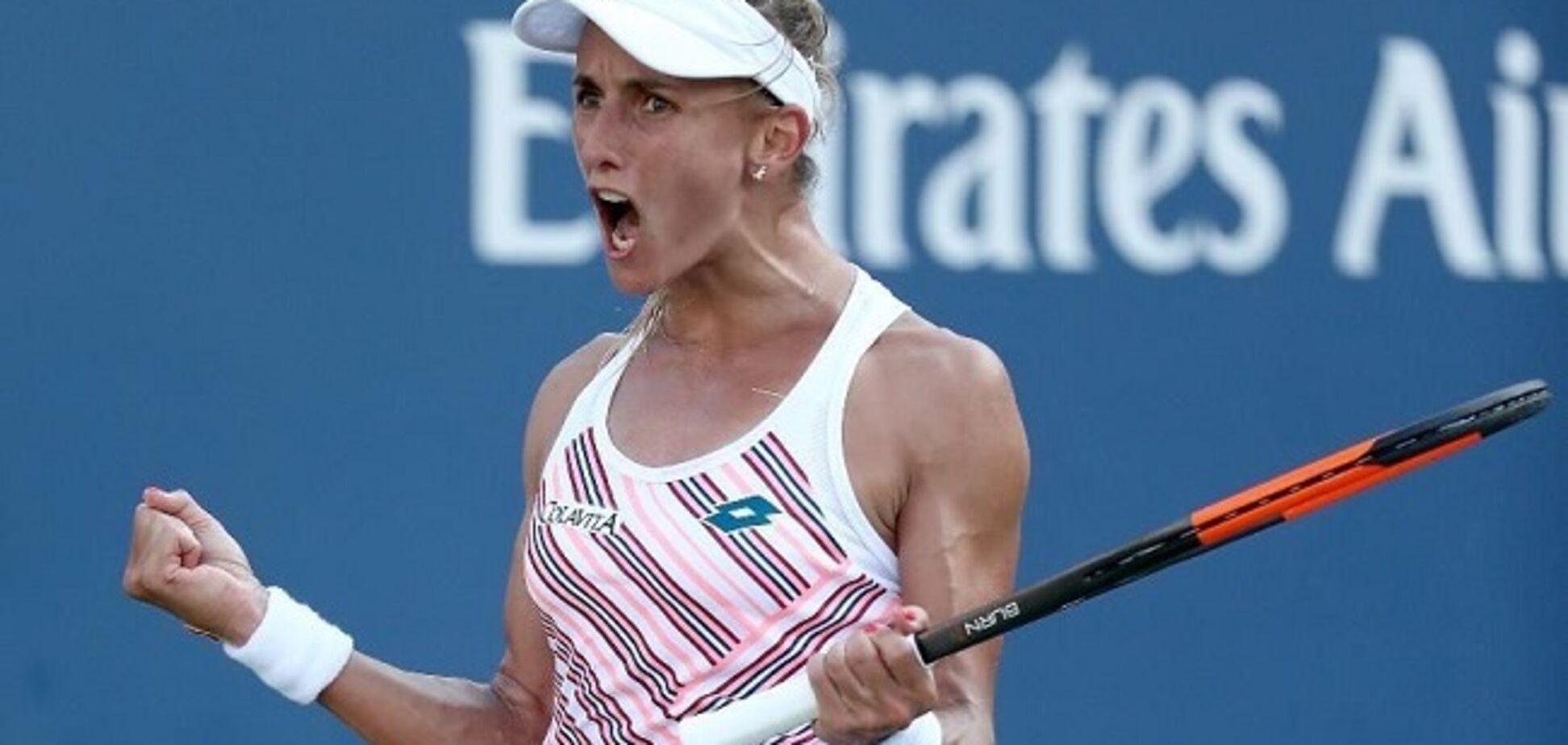 Українка з розгрому почала тенісний супертурнір в Брісбені