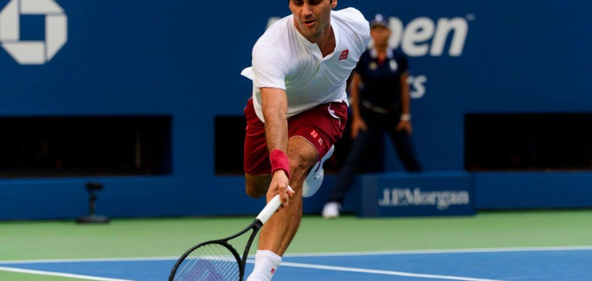 Шок и истерика: легендарный Федерер исполнил самый чумовой удар US Open - опубликовано видео шедевра